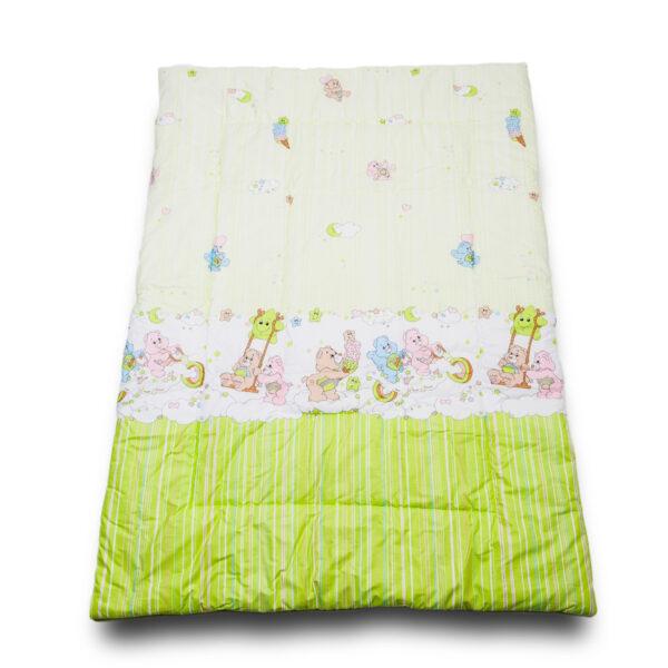 Одеяло Забава зеленый