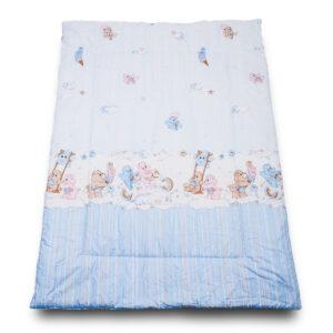 Одеяло Забава голубой